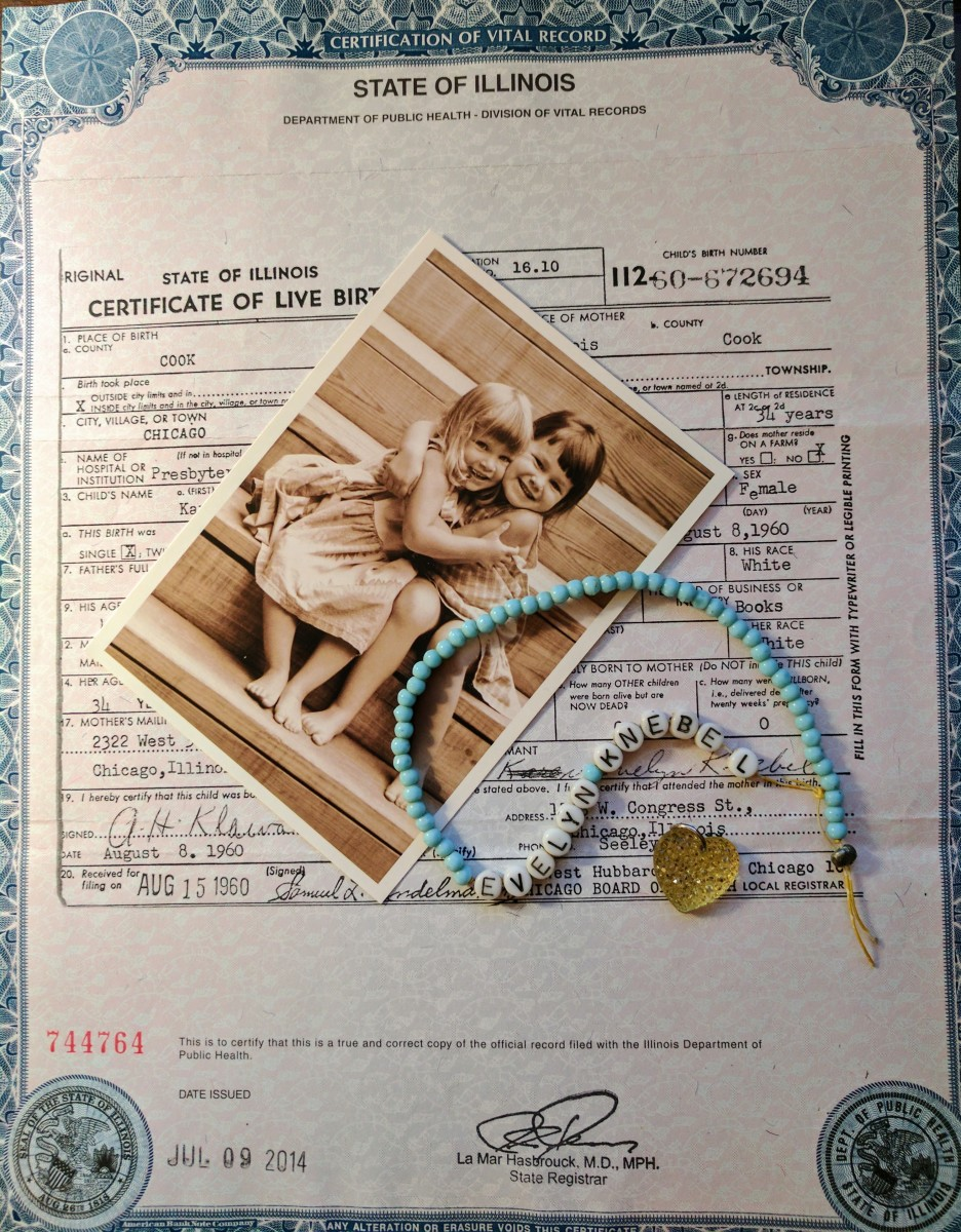 Birth Certificate and Hospital Bracelet