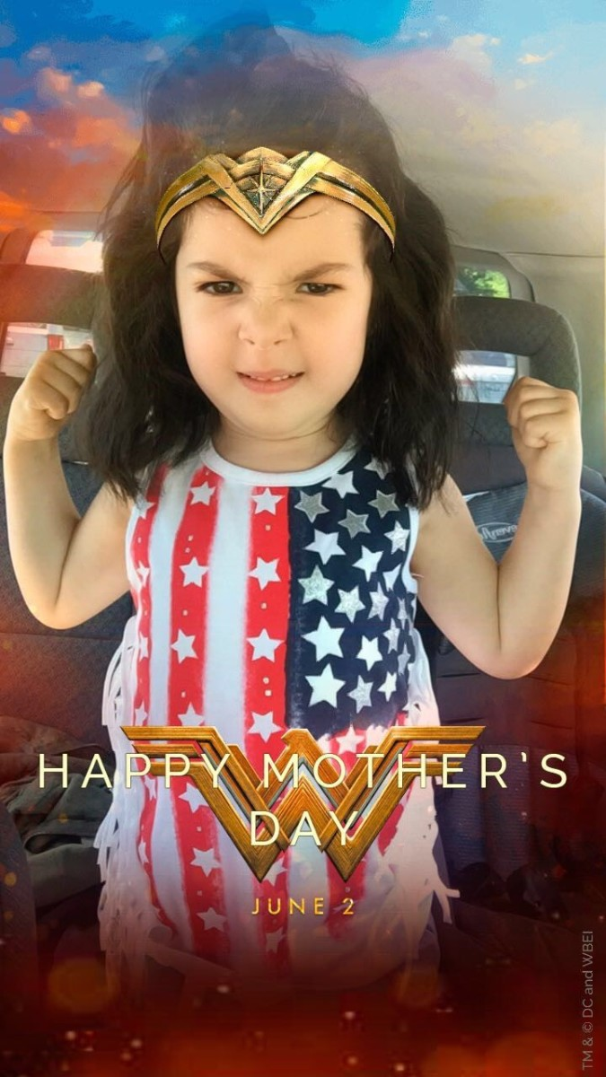 Wonder Woman is her favorite!