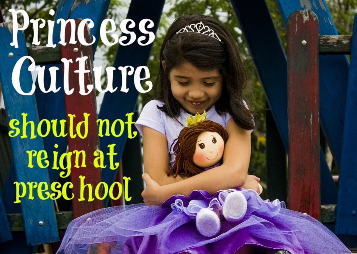 Preschools that allow girls to come to class in princess garb are promoting a sexist environment where looks are esteemed above accomplishments.