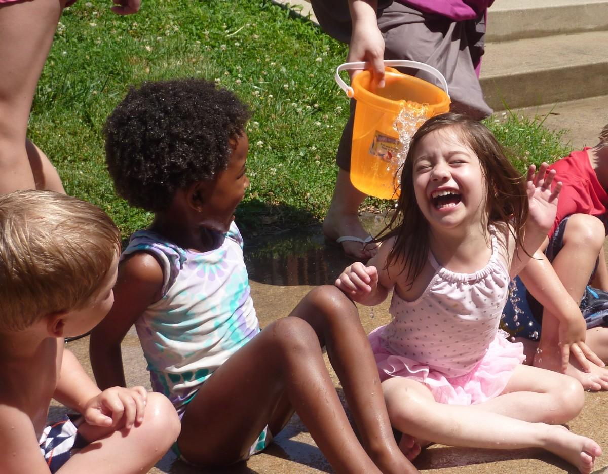 Wanna beat the heat? Try a game of Drip Drip Splash!