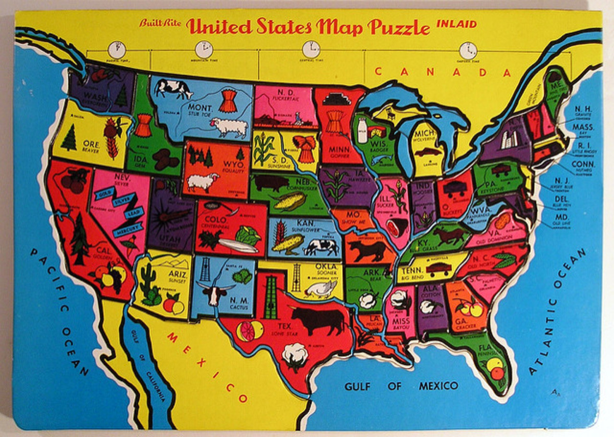 Map puzzles help children learn and remember the geography of different countries.