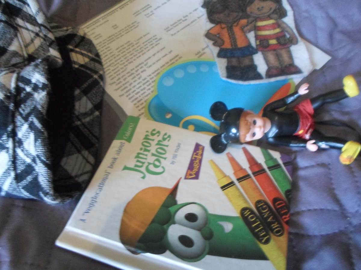 Sample of Storytelling Bag