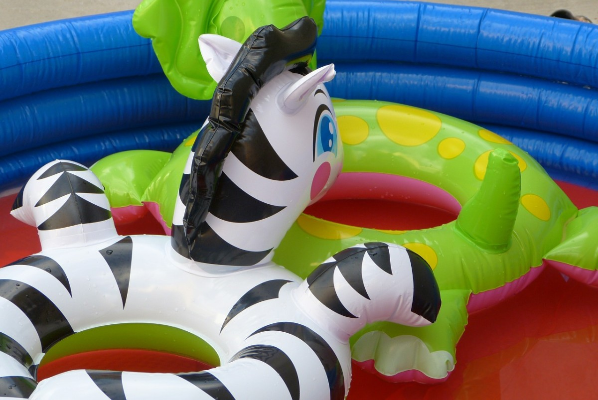 Pool toys being dangerous is something that would be easily overlooked!