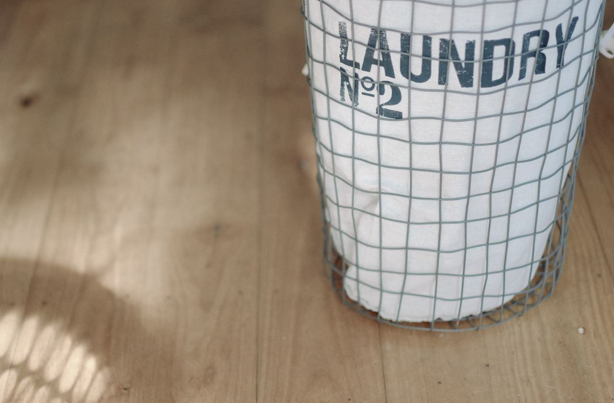 I have two kids and somehow I have like ten laundry hampers that are full at all times.