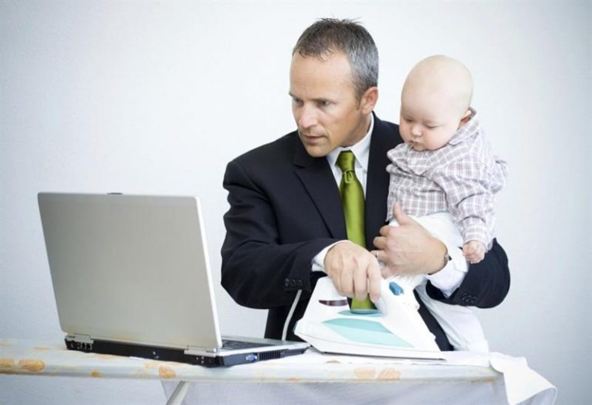 A growing concern for men: Work/Family Balance