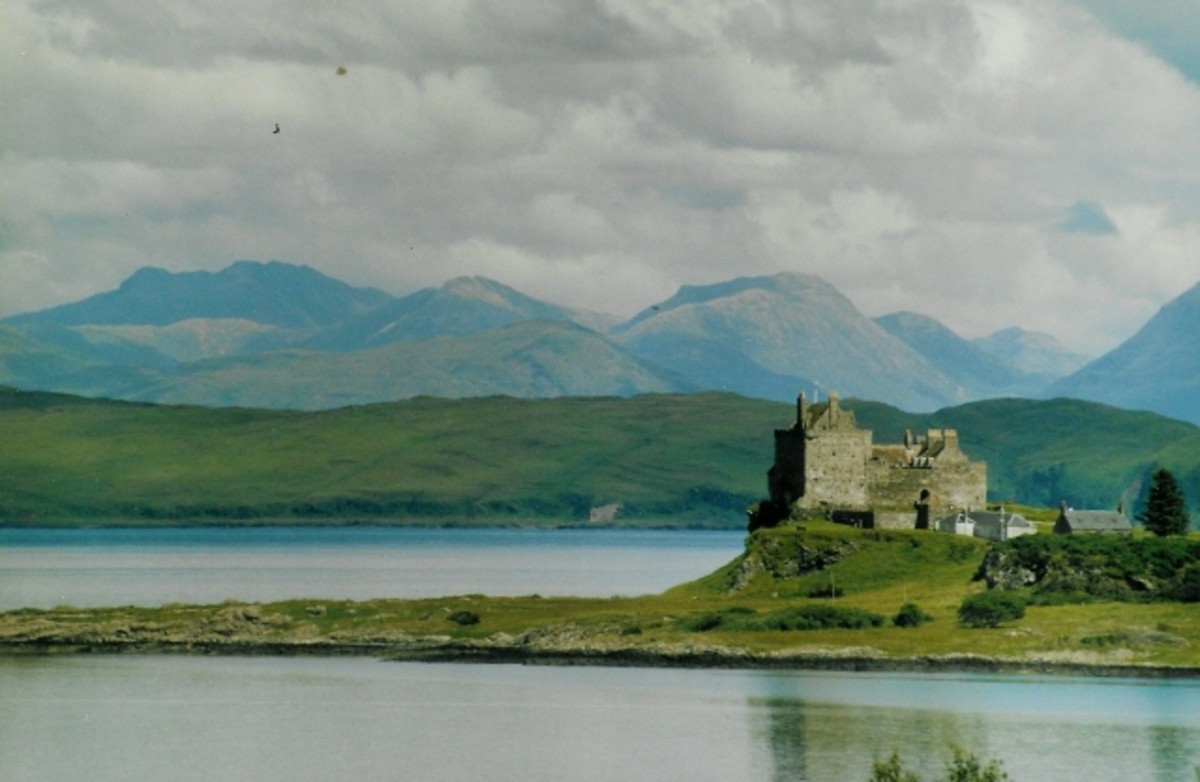 Many Scottish names are inspired by the stunning landscape and islands.