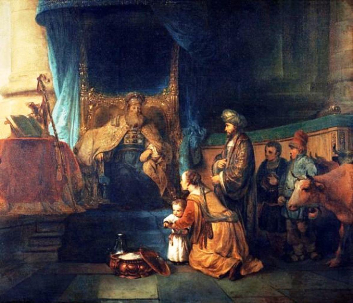 Hannah Dedicates Samuel (1 Samuel 1:24)