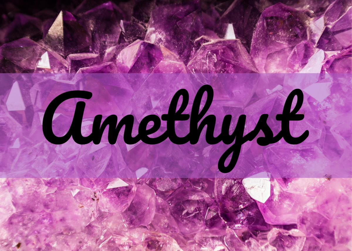 Amethyst is the birthstone of February and a unique name for a girl.