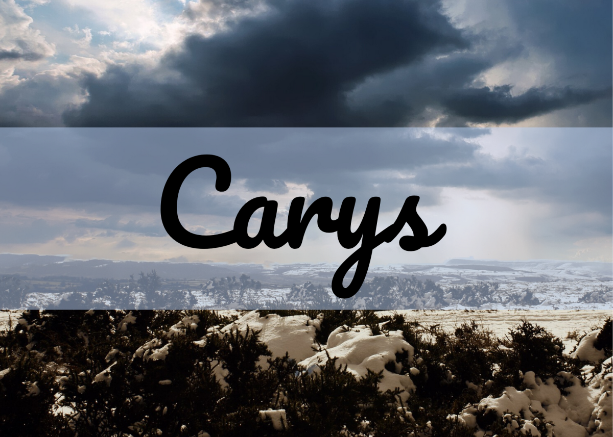 Carys is a Welsh name that is still uncommon in the United States.