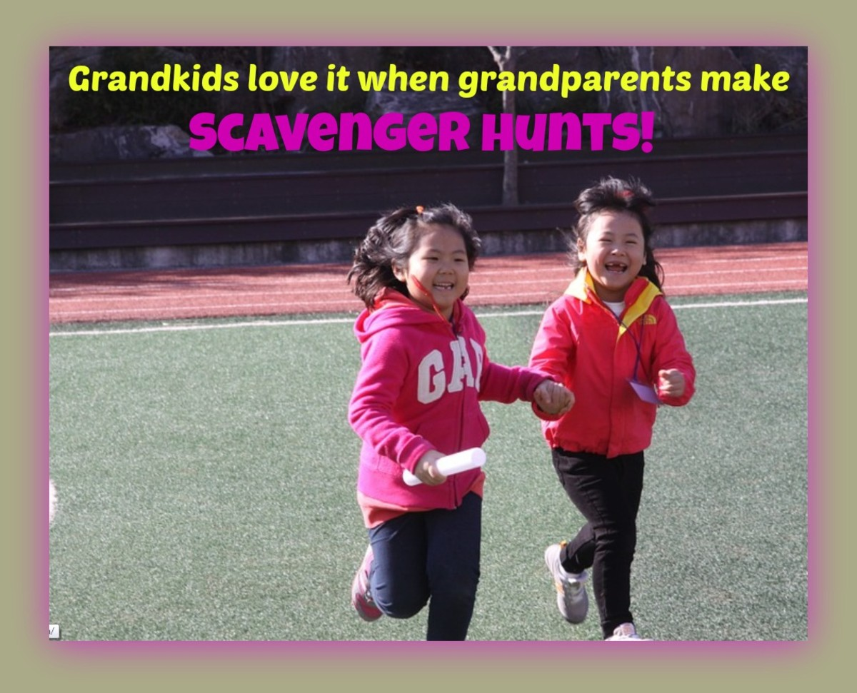 As a former camp counselor and teacher, I know how much kids of all ages love scavenger hunts. Grandparents can make them simple for little kids and challenging for older ones
