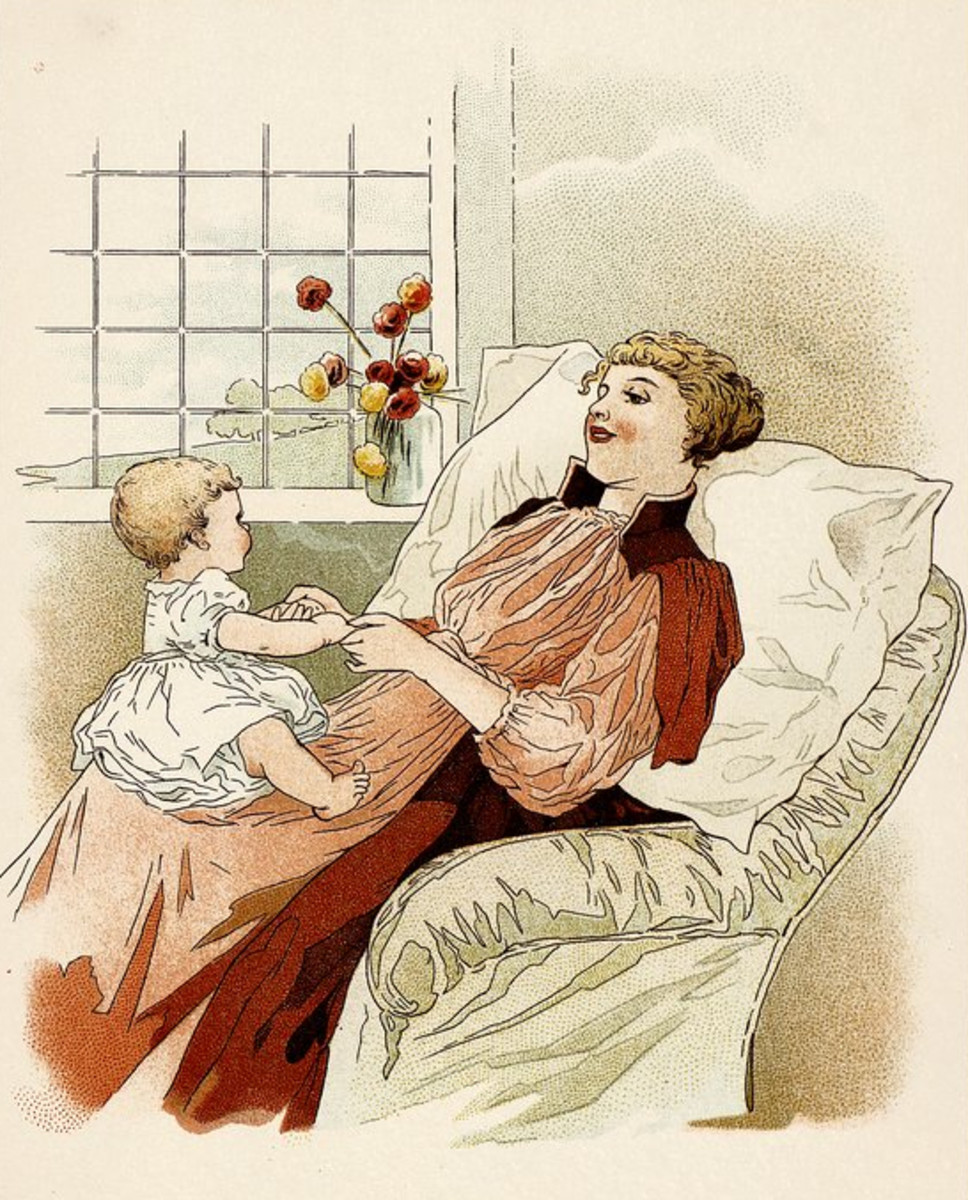 1890 Baby's Annual Pictures and Stories for Little People