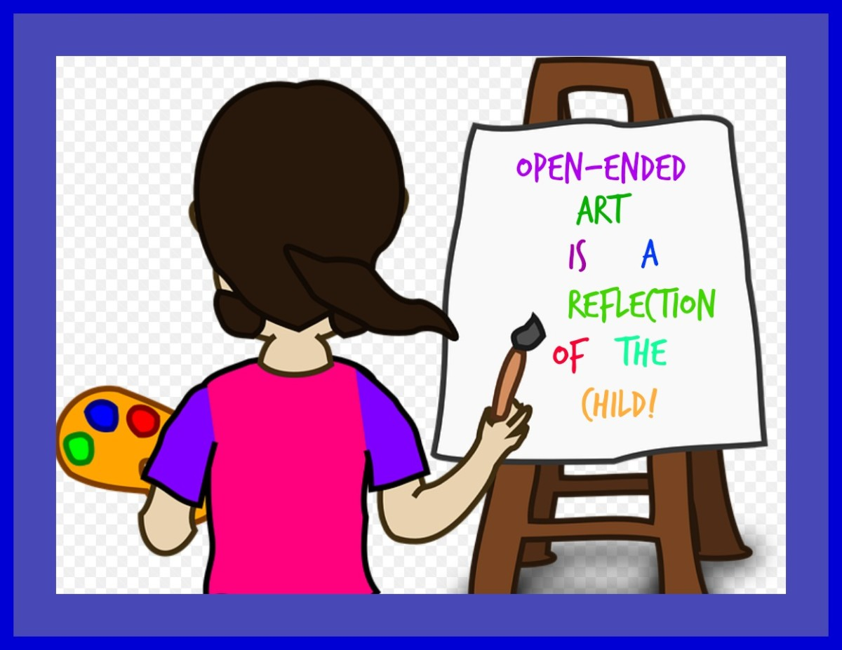 A good preschool teacher knows the value of letting kids express themselves through open-ended art such as painting at the easel. It's beyond disheartening when parents don't appreciate this artwork, making both the teacher and child feel bad.