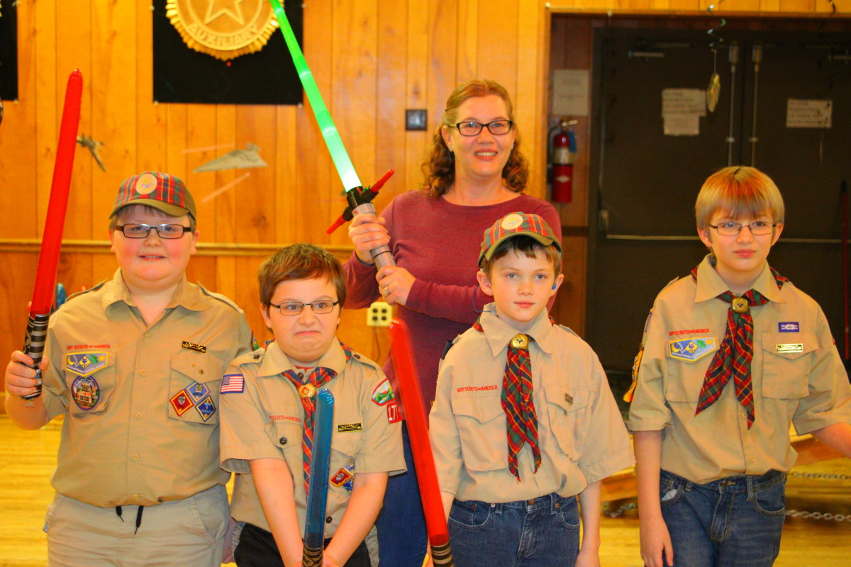While cub scouts is over, Scouts BSA is just beginning for these kids. They are on to bigger adventures!
