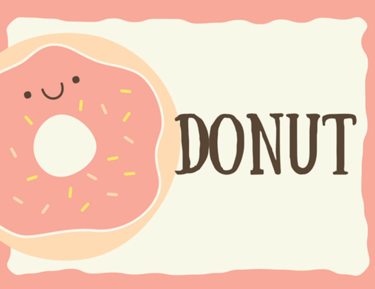 Is it Donut or Doughnut? #PictionaryQuestions