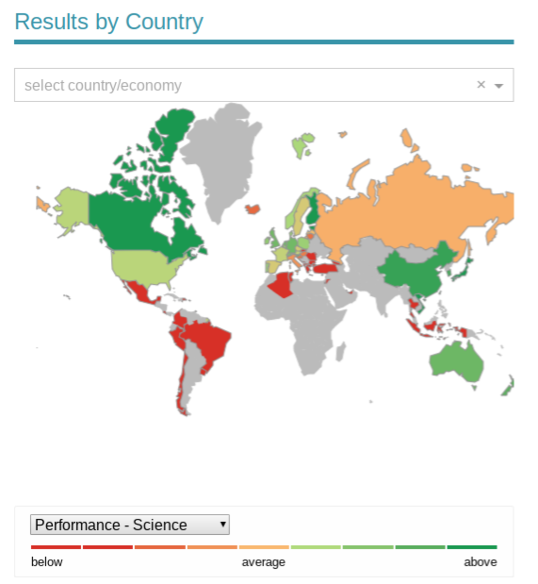 2009 was the last time Panama participated in the PISA test. The PISA is known for its testing of high school students around the world, especially in math and reading. It is conducted by OECD.org to rank educational results on a world scale.