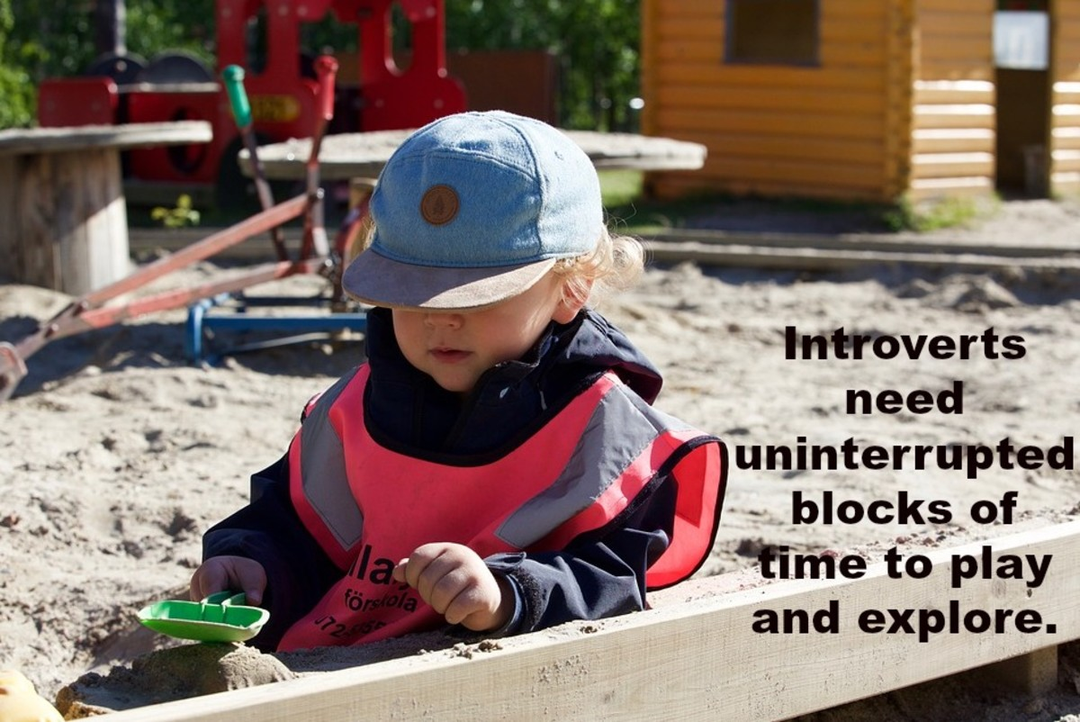 Parenting introverted preschoolers means advocating for their time to be alone and investigate things deeply.