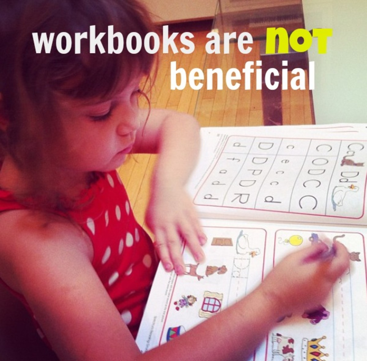 According to the latest brain research, children benefit far more from exploring their surroundings than sitting down and writing in workbooks.