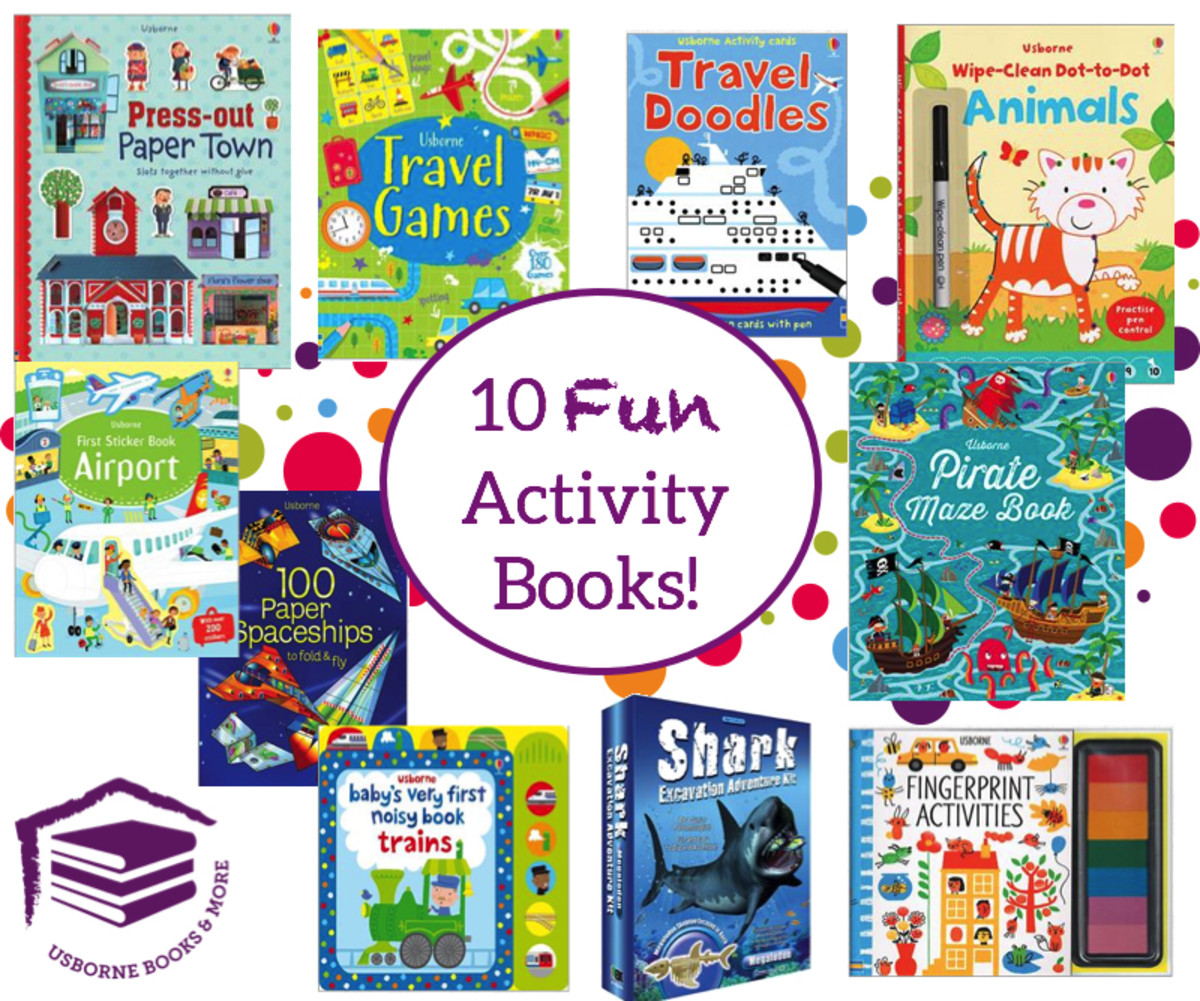 Great Activity Books!