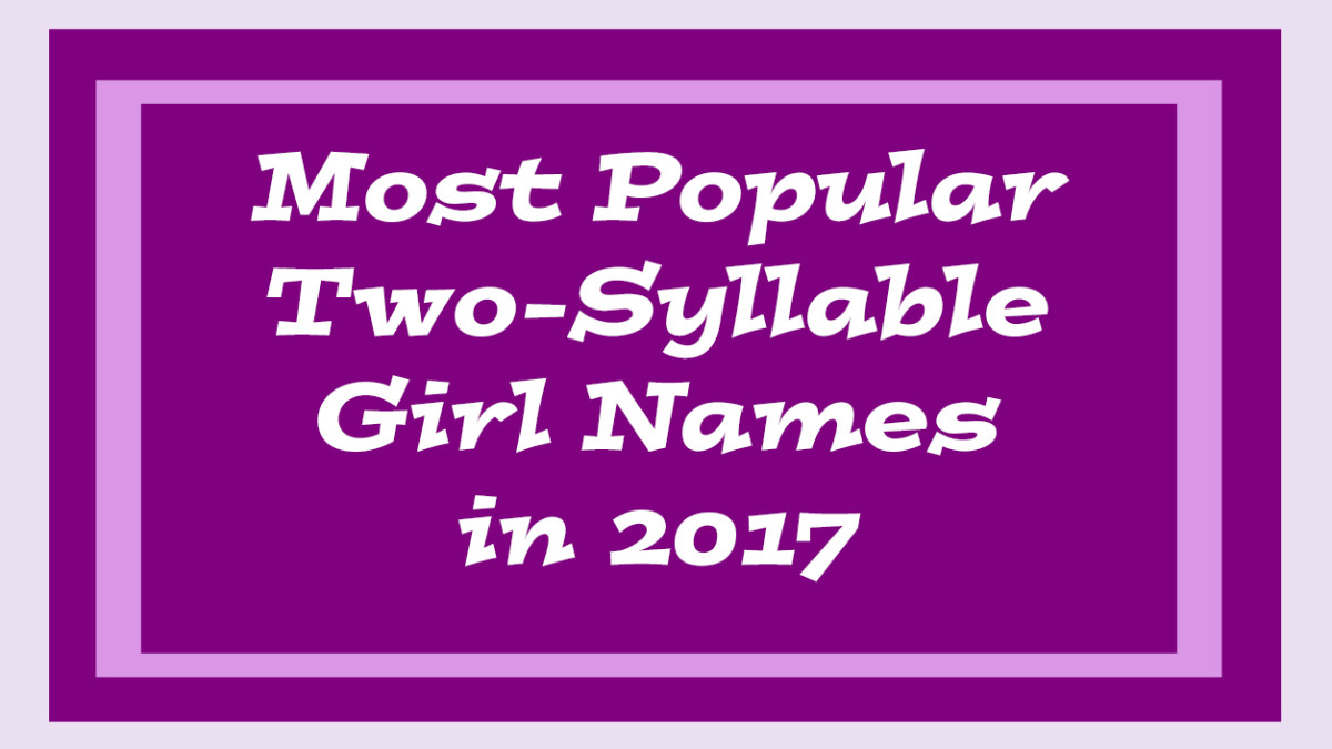 Popular Two-Syllable Baby Girl Names | WeHaveKids