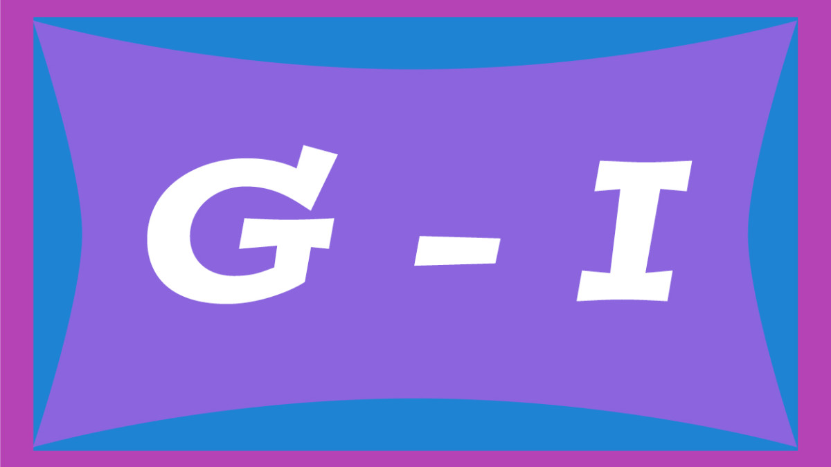 Two-syllable names for girls from G through I