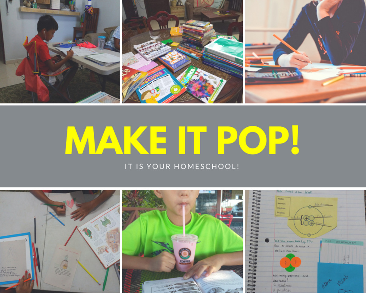 You can make your homeschool as fun as you want!