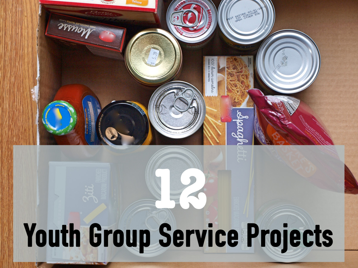Get your youth group active in one of these 12 service project ideas.
