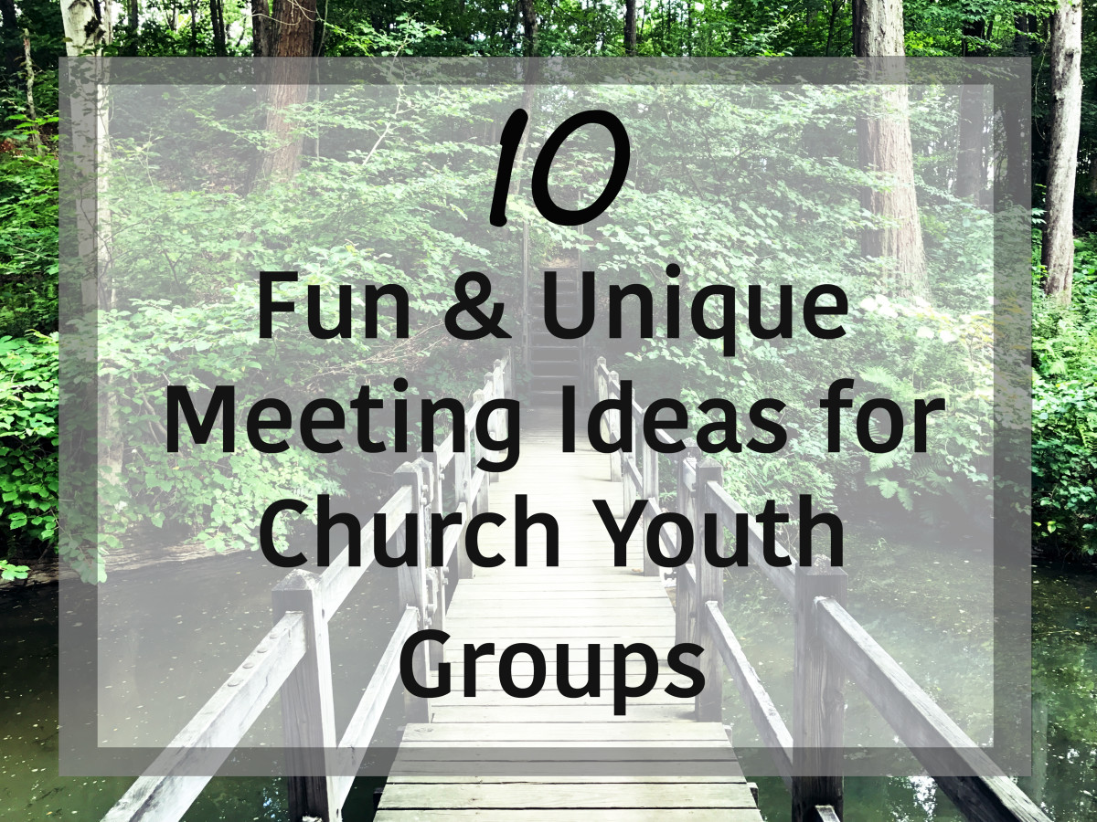 Church youth groups don't just have to meet inside.  Here are 10 plus ideas to mix up meeting locations.  They'll help keep the group interested.