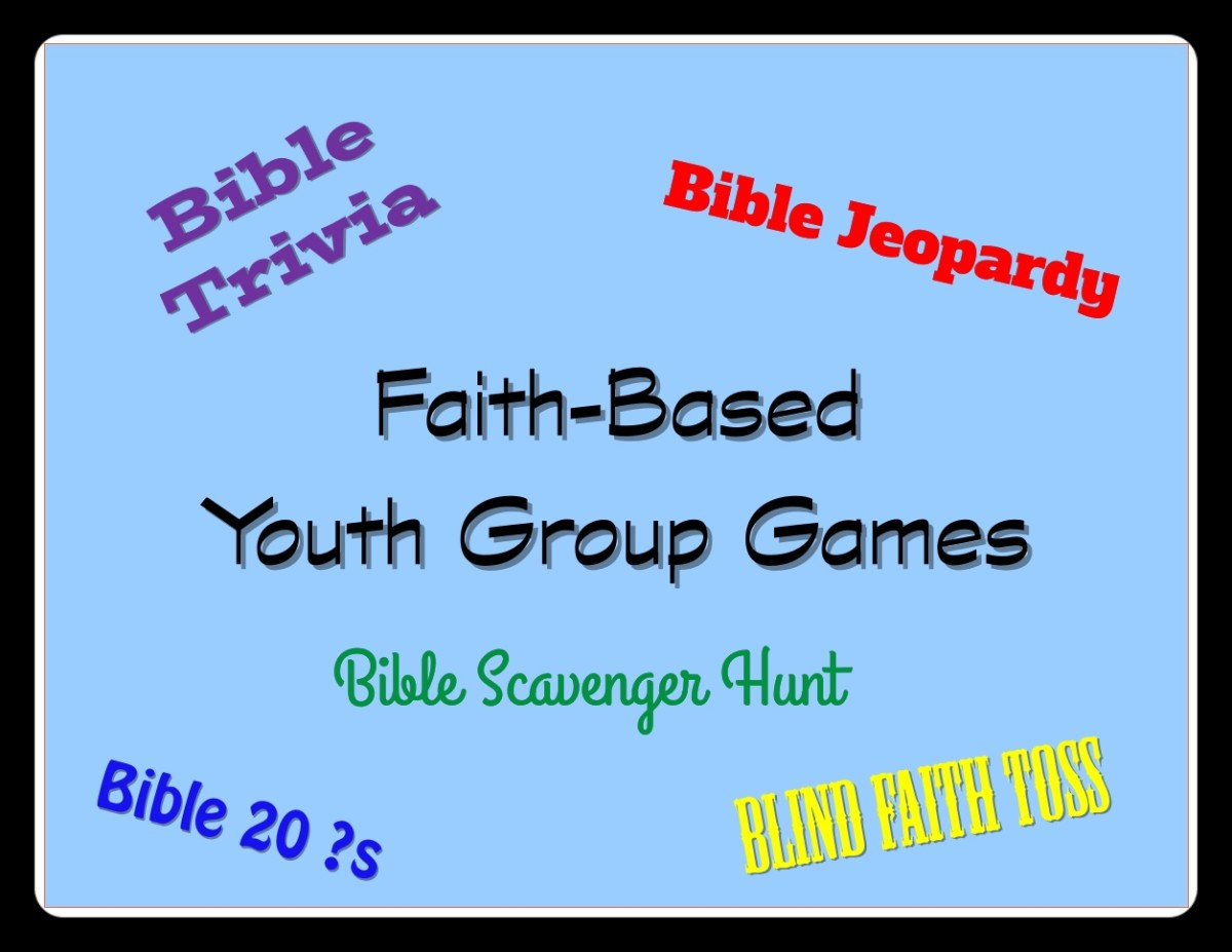 There are loads of games to play with youth groups.  Here's a list of faith-based ones.