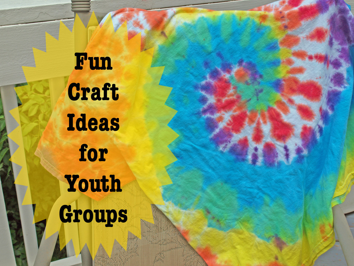 Crafts are a fun part of any church youth group and here are some ideas to get you started.