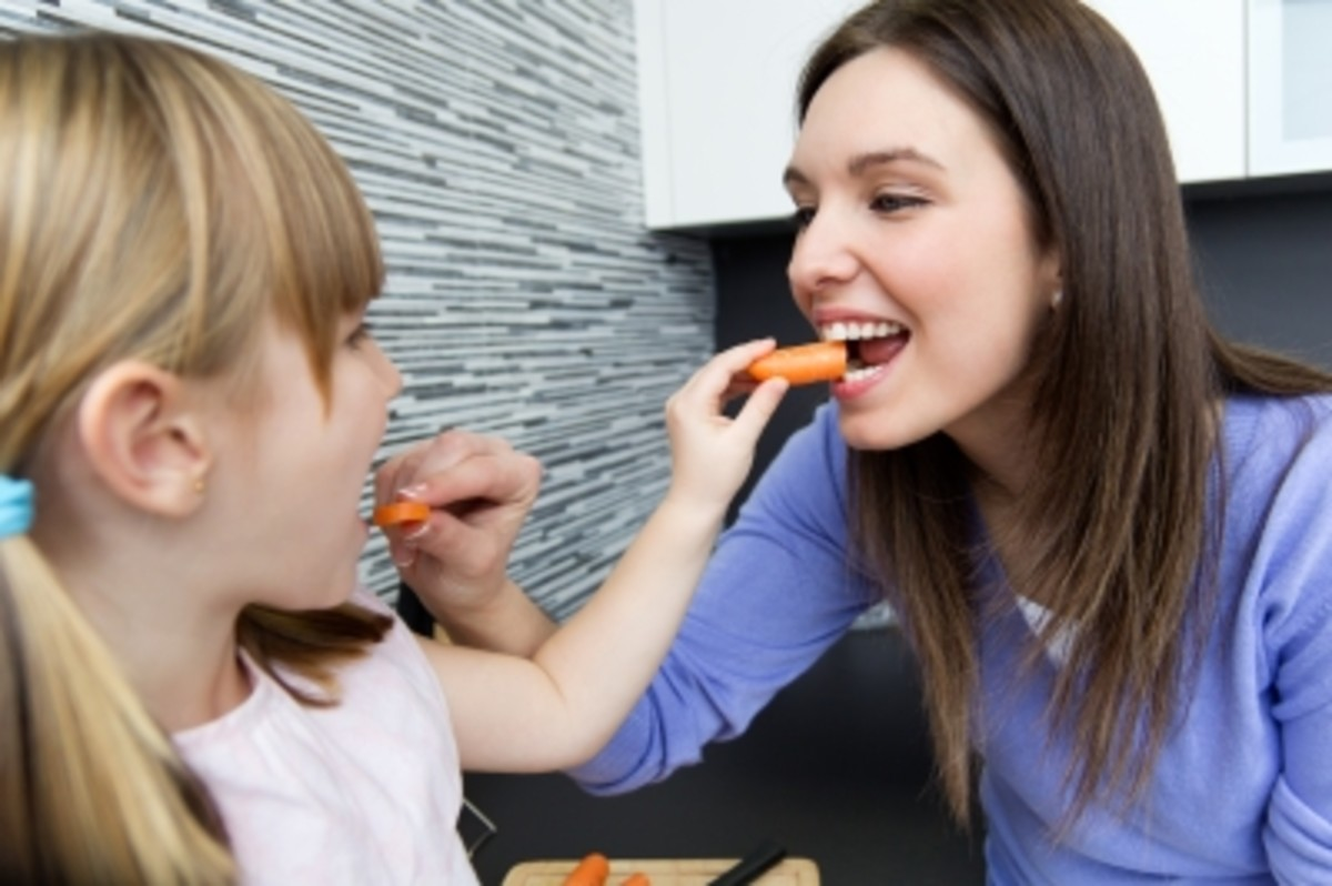 Eating with your kids and making food fun and interactive is a great way to get them to eat a healthy diet at meal times without even realizing it!