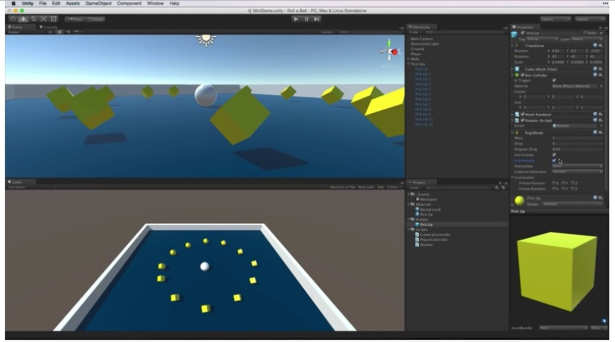 Unity Game Development