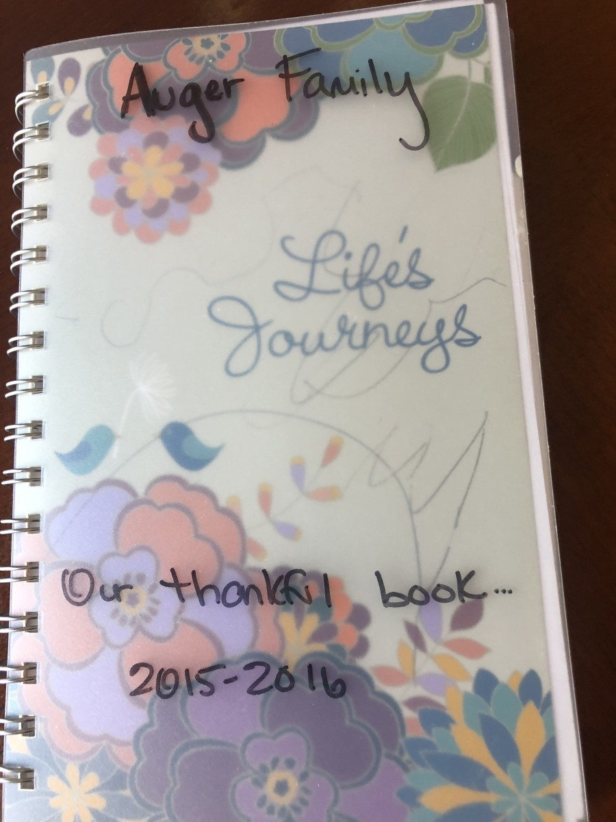Our Thankful Book