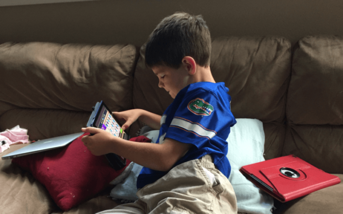 Screen time can be used as a reward for good behavior