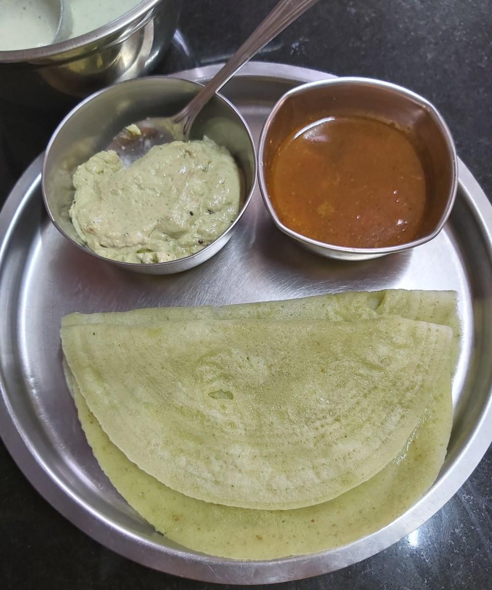 Sabudana (Sago) Dosa Recipe