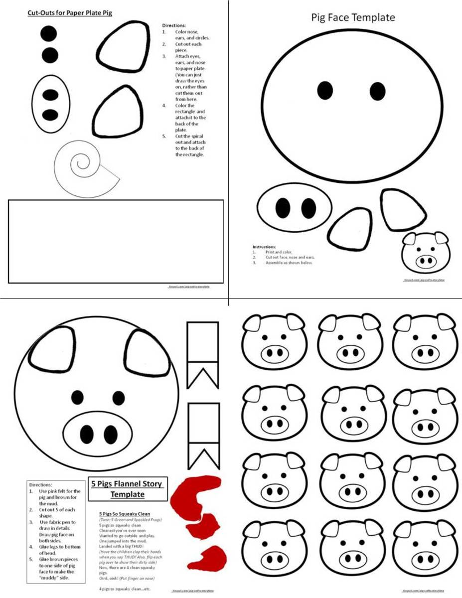 Here are examples of some craft templates you can print off from this site. Click the orange link below to get to a pdf document so you can print off the the pattern you'd like.