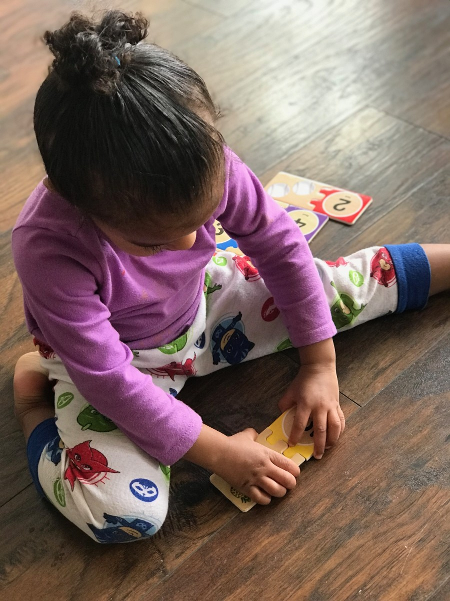 When children have a skill they can accomplish independently, they should be given the time and space to do so.