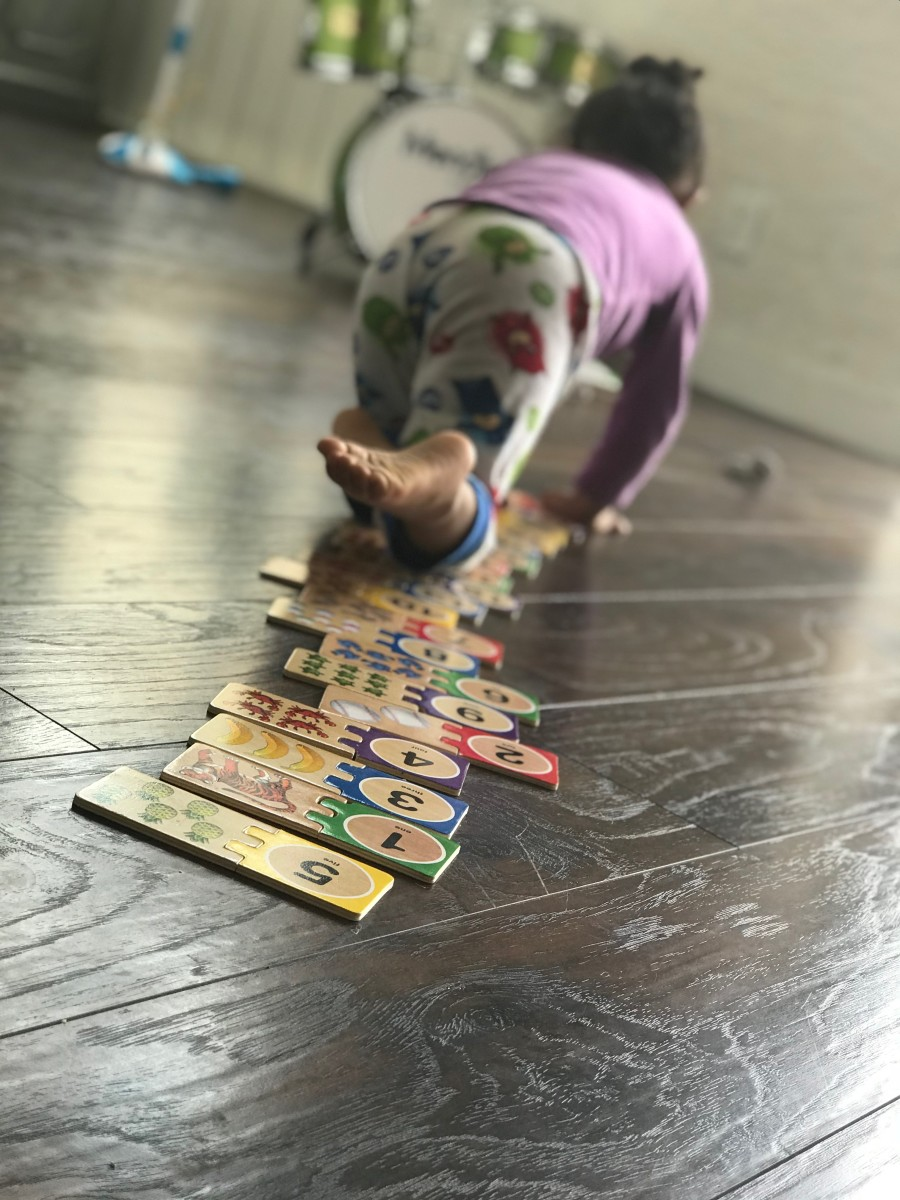 Associating numbers and math with play and fun is just as critical as teaching counting and quantity