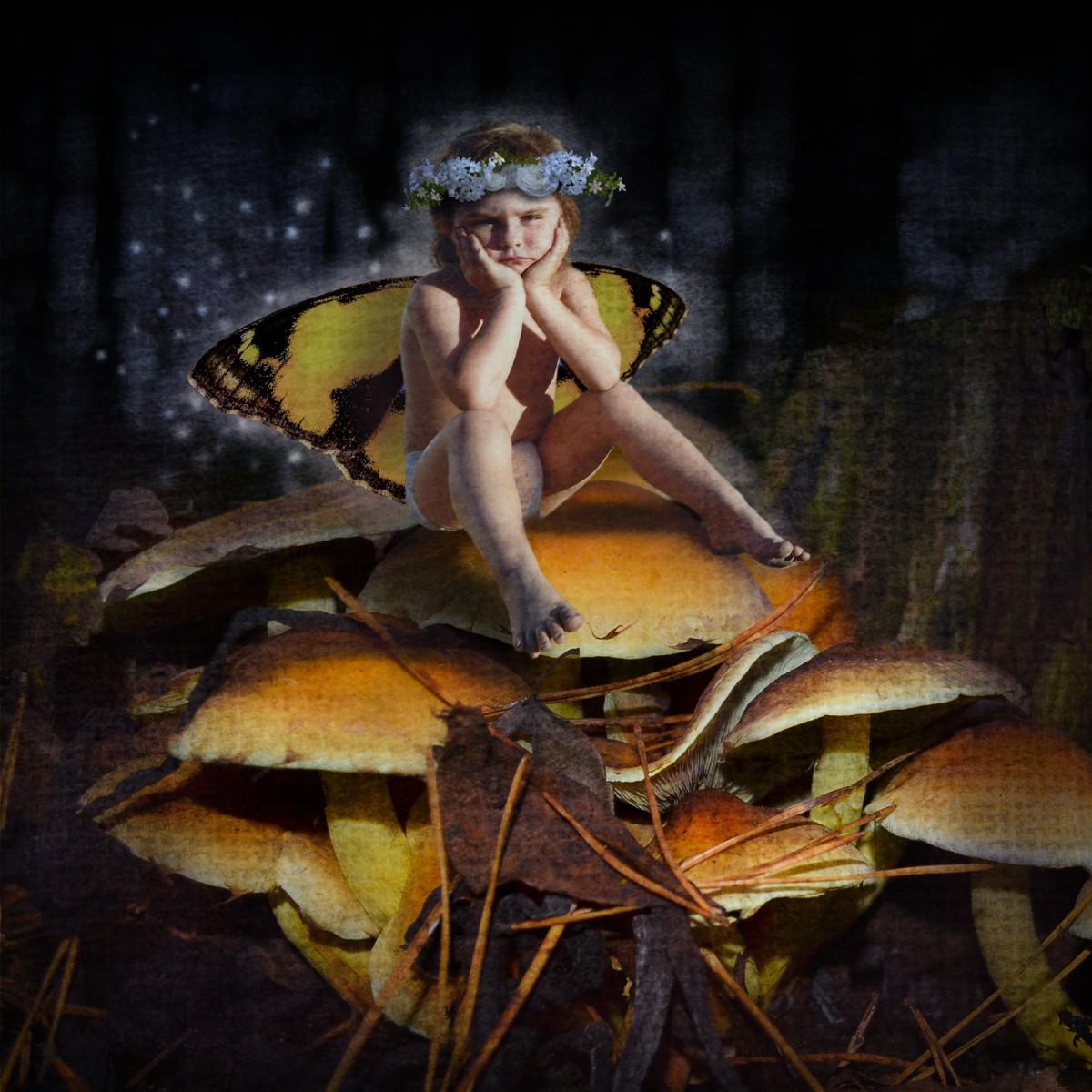 My mad mushroom fairy.