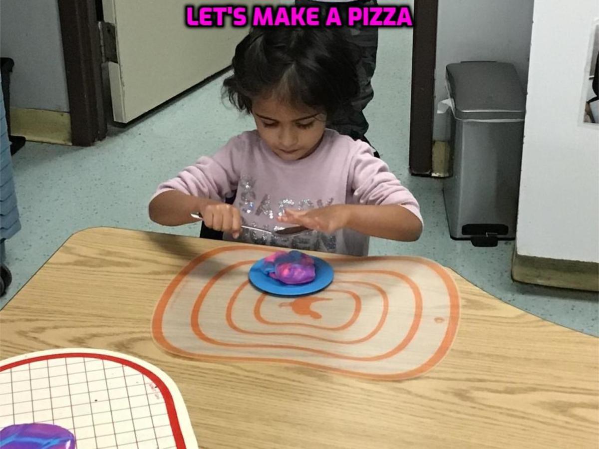A creative activity that stimulates the imagination.