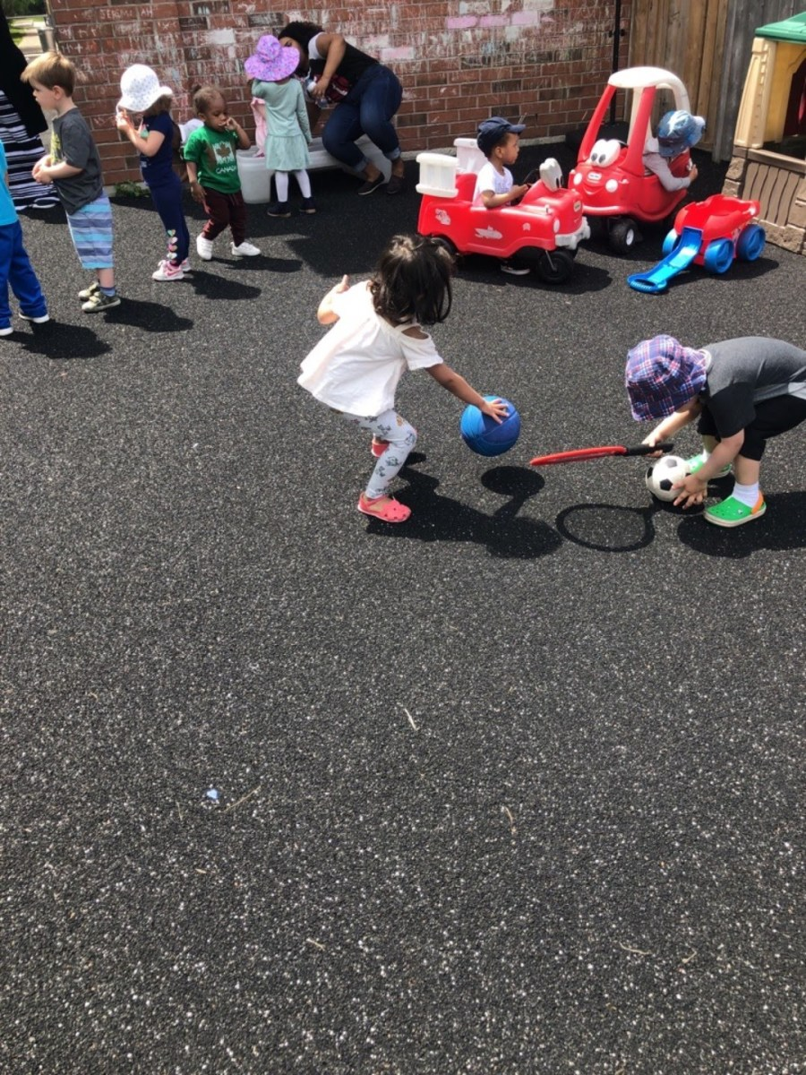 Exercise and outdoors play can help children develop their cognitive skills.