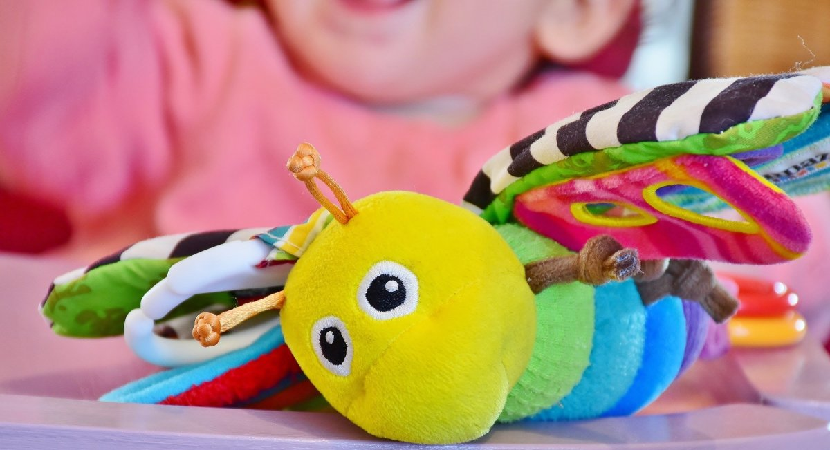This Lamaze firefly toy is a classic.