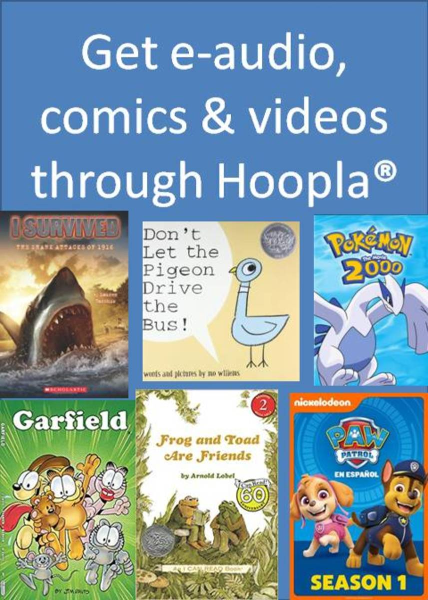 You can get a variety of books, videos, and comics through Hoopla, a service available for free through many libraries.