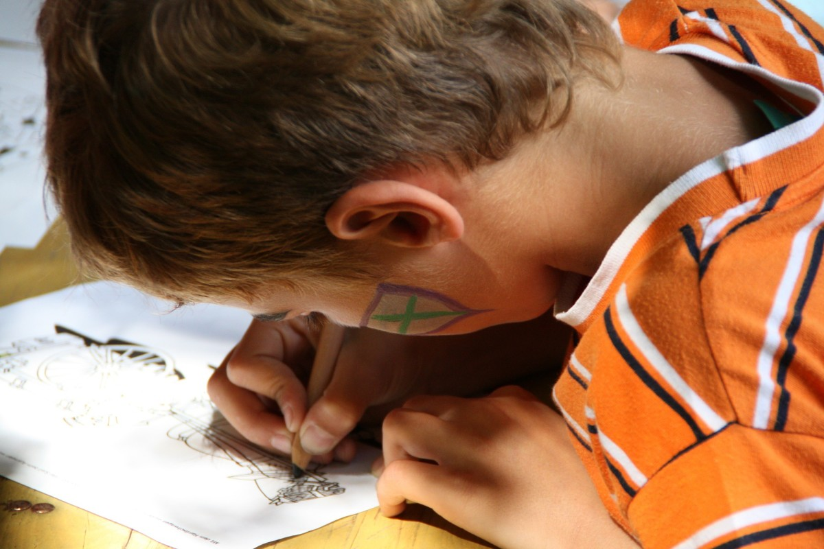 Children can develop language arts skills by writing and illustrating their own graphic novel.