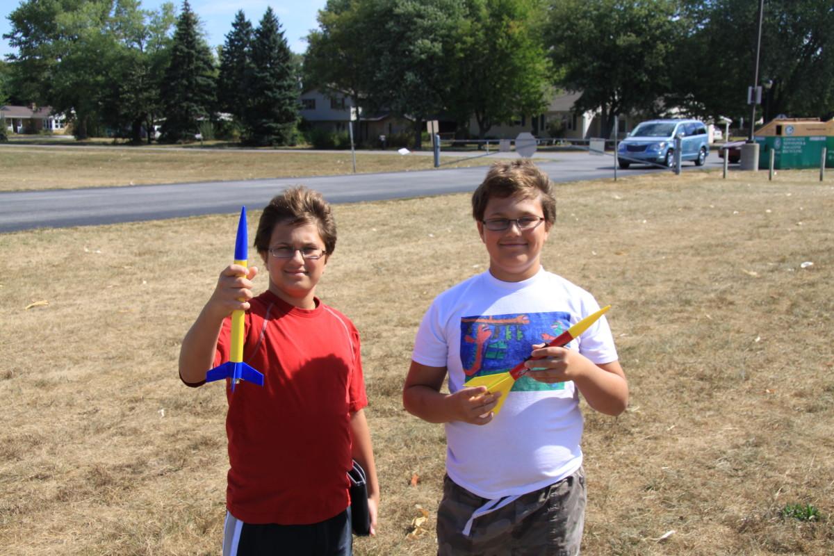 Proud rocket launchers!