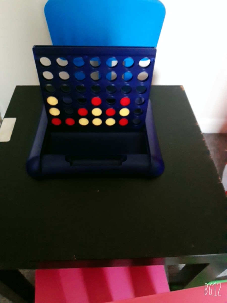 Playing Connect 4.