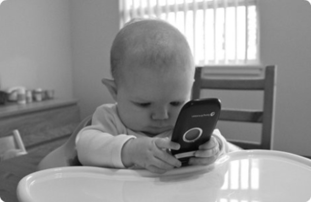 App games, such as Elmo Calls and other Sesame Street apps, can help babies develop their brains.