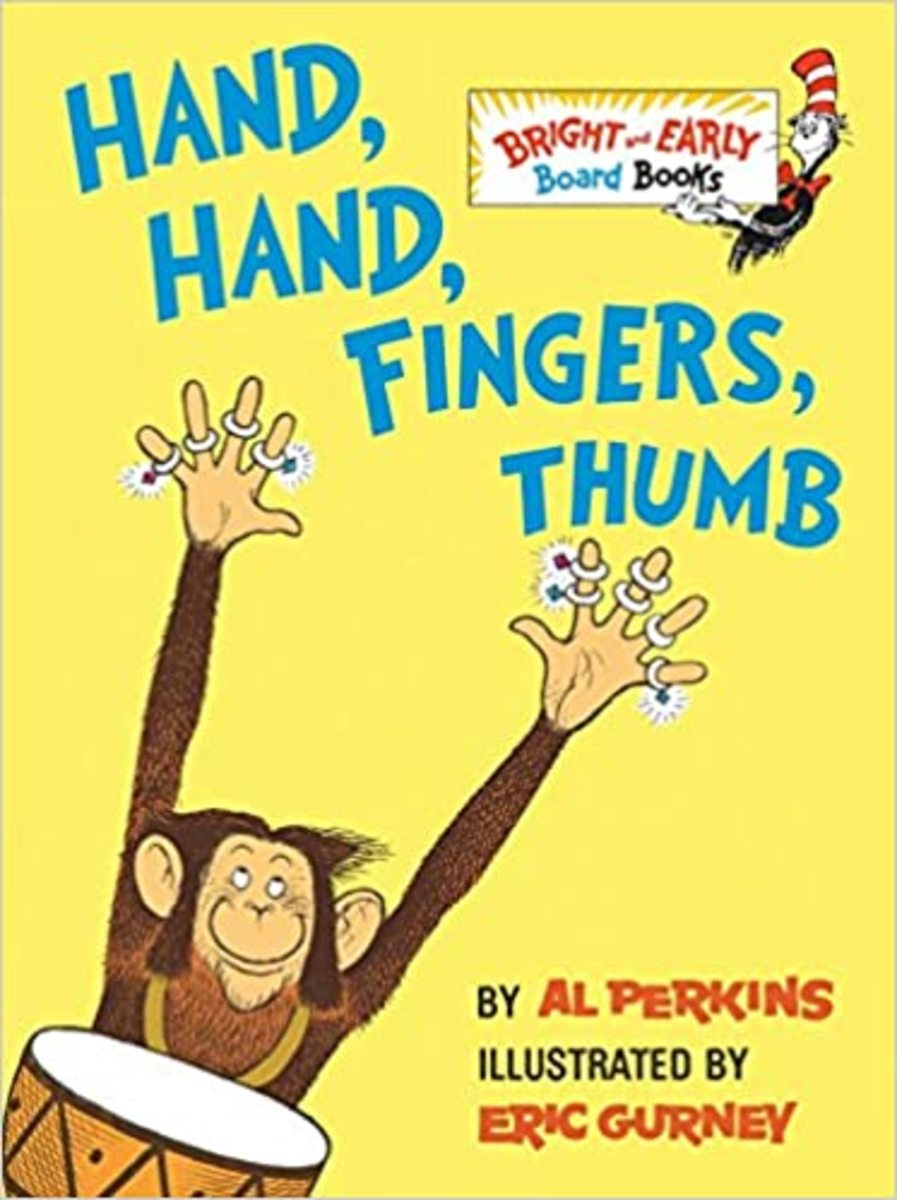 """Hand, Hand, Fingers, Thumb"" cover"