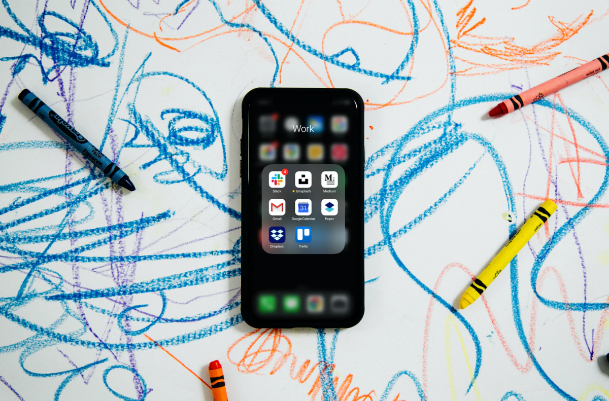 Keeping your phone tucked away during an assignment shows that the child is your number one priority