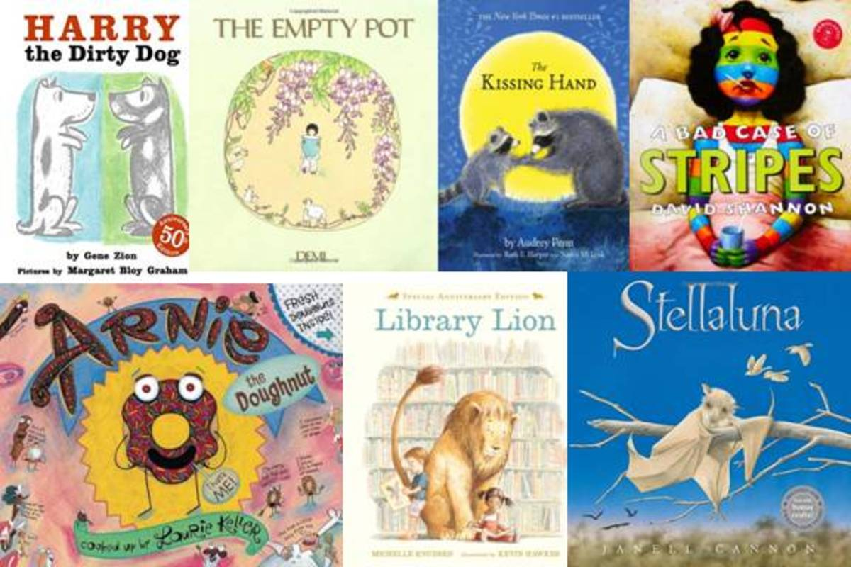 Here are some sample books available from Storyline Online.