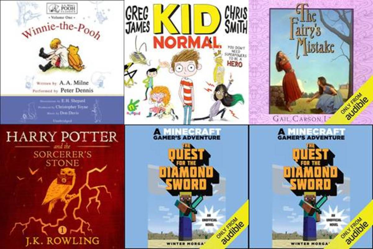 The audio book company Audible has a number of children's books available for free for a limited time.